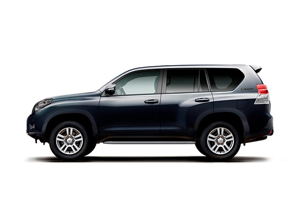 Аренда автомобиля TOYOTA LAND CRUISER PRADO 150 во Владивостоке